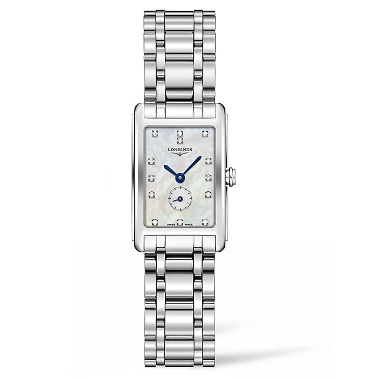 Longines Dolcevita ladies' stainless steel bracelet watch - Product number 3448371