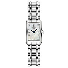 Longines Dolcevita ladies' stainless steel bracelet watch - Product number 3448479