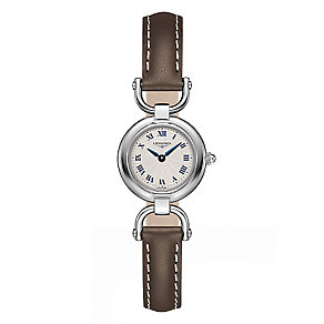 Longines Equestrian Ladies'  Stainless Steel Strap Watch - Product number 3448568