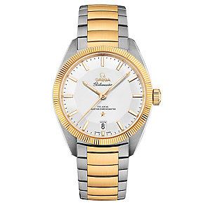 Omega Globemaster Men's Two Colour Bracelet Watch - Product number 3450287