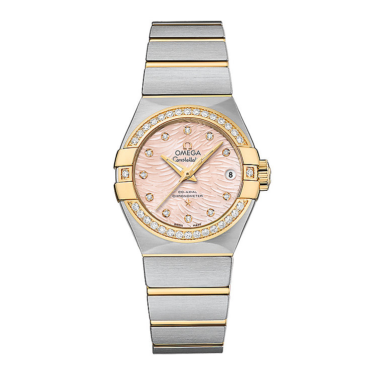 Omega Constellation Butterfly ladies' bracelet watch - Product number 3450422