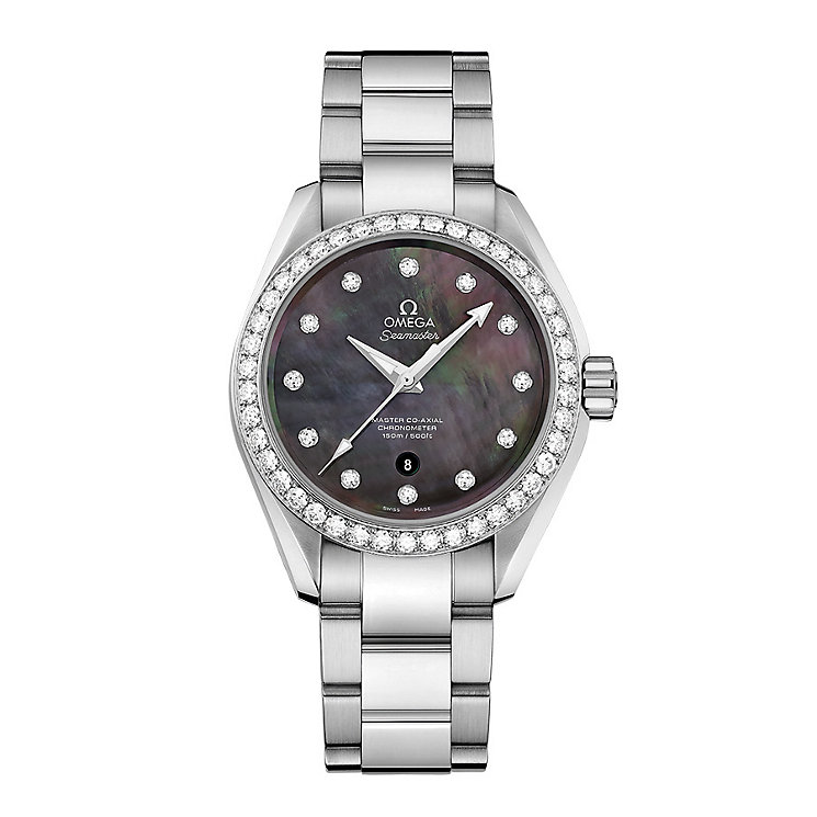 Omega Seamaster Aqua Terra 150M Ladies' Bracelet Watch - Product number 3450554