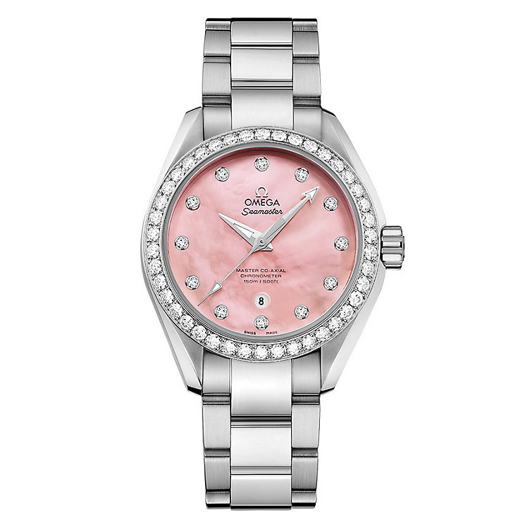 Omega Seamaster Aqua Terra 150M Ladies' Bracelet Watch - Product number 3450562