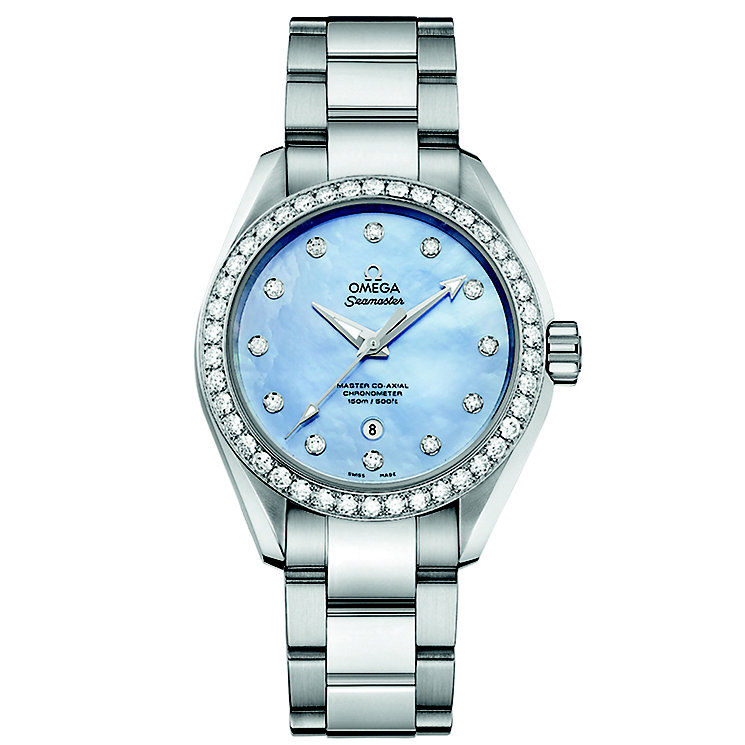 Omega Seamaster Aqua Terra 150M Ladies' Bracelet Watch - Product number 3450570