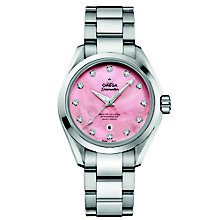 Omega Seamaster Aqua Terra 150M Ladies' Bracelet Watch - Product number 3450589