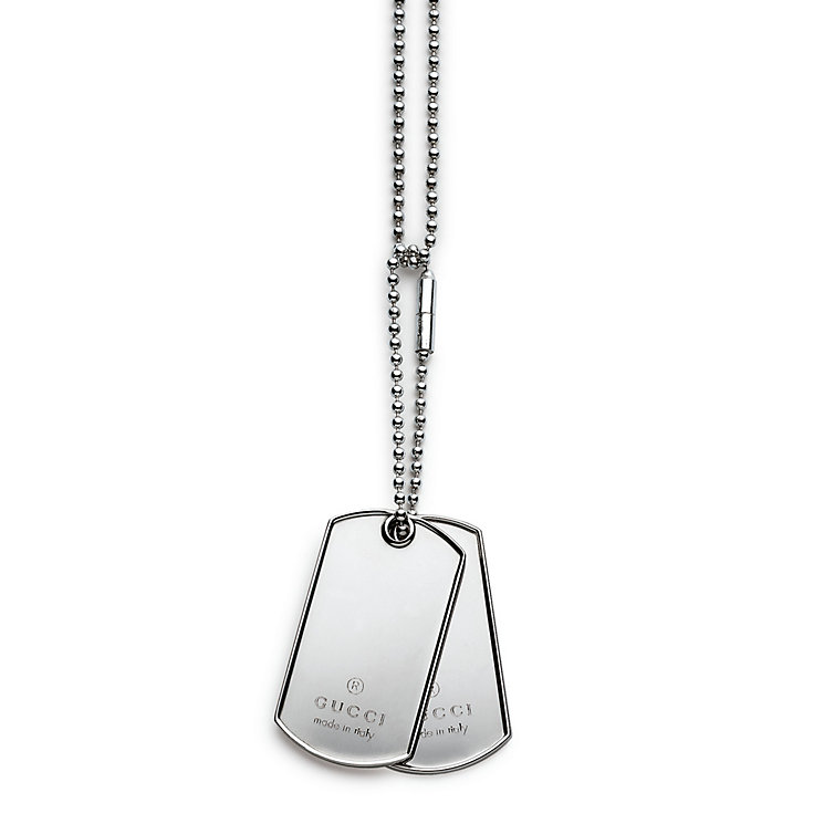 Gucci Dog tag Necklace - Product number 3450597
