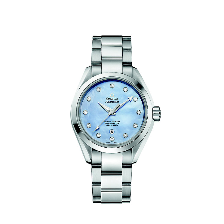 Omega Seamaster Aqua Terra 150M Ladies' Bracelet Watch - Product number 3450619
