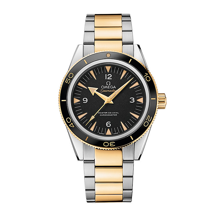 Omega Seamaster 300 Men's Two Colour Bracelet Watch - Product number 3450740