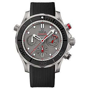 Omega Seamaster Diver ETNZ men's stainless steel strap watch - Product number 3450783