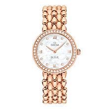 Omega De Ville Prestige Dewdrop Ladies' Bracelet Watch - Product number 3451135