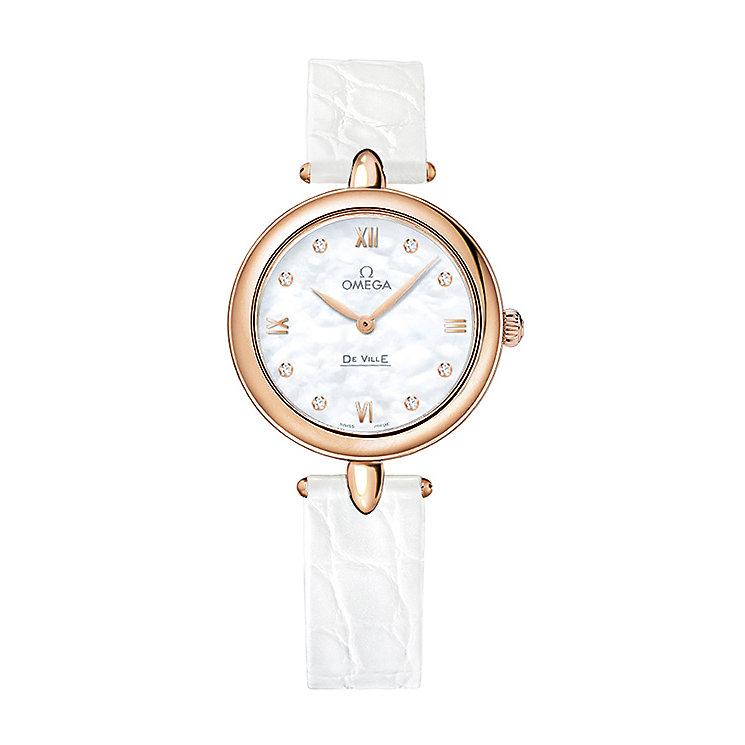 Omega De Ville Prestige Quartz Ladies' Strap Watch - Product number 3451186