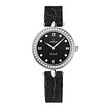 Omega De Ville Prestige Quartz Ladies' Strap Watch - Product number 3451194