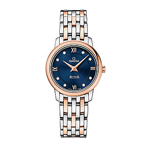 Omega Prestige ladies' two colour bracelet watch - Product number 3451224