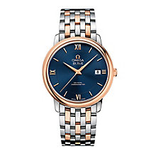 Omega De Ville Prestige ETNZ men's two colour bracelet watch - Product number 3451232