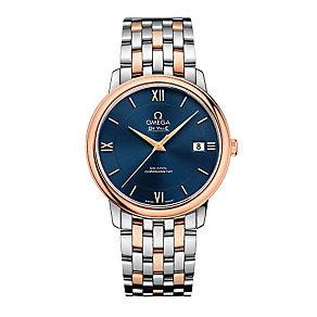 Omega Prestige men's two colour bracelet watch - Product number 3451232