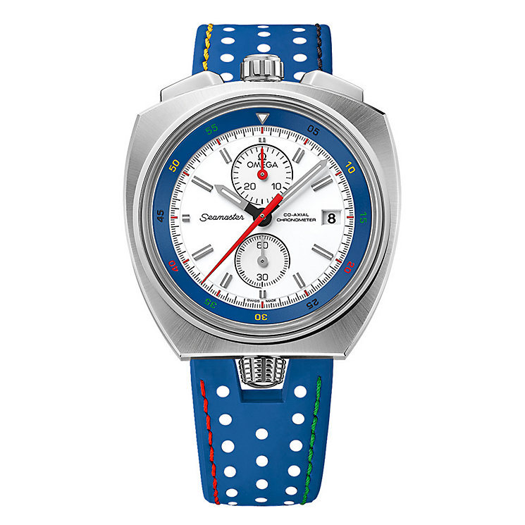 Omega Seamaster Olympic Bullhead Rio Men's Strap Watch - Product number 3451313