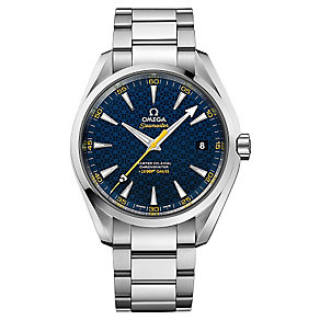 Omega Seamaster Aqua Terra James Bond men's bracelet watch - Product number 3451356