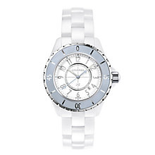 Chanel J12 ladies' white ceramic bracelet watch - Product number 3451674