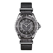 Chanel Ladies' J12 Stainless Steel Automatic Strap Watch - Product number 3451704