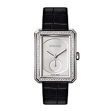 Chanel Ladies' 18ct white gold bracelet Watch Medium - Product number 3451917