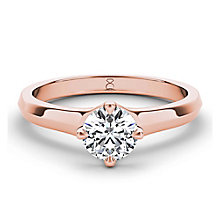 The Diamond Story 18ct rose gold 1/3 carat diamond ring - Product number 3453529