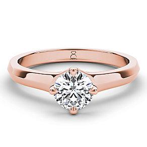 The Diamond Story 18ct rose gold half carat diamond ring - Product number 3453669