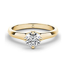 The Diamond Story 18ct yellow gold 1/4 carat diamond ring - Product number 3456455