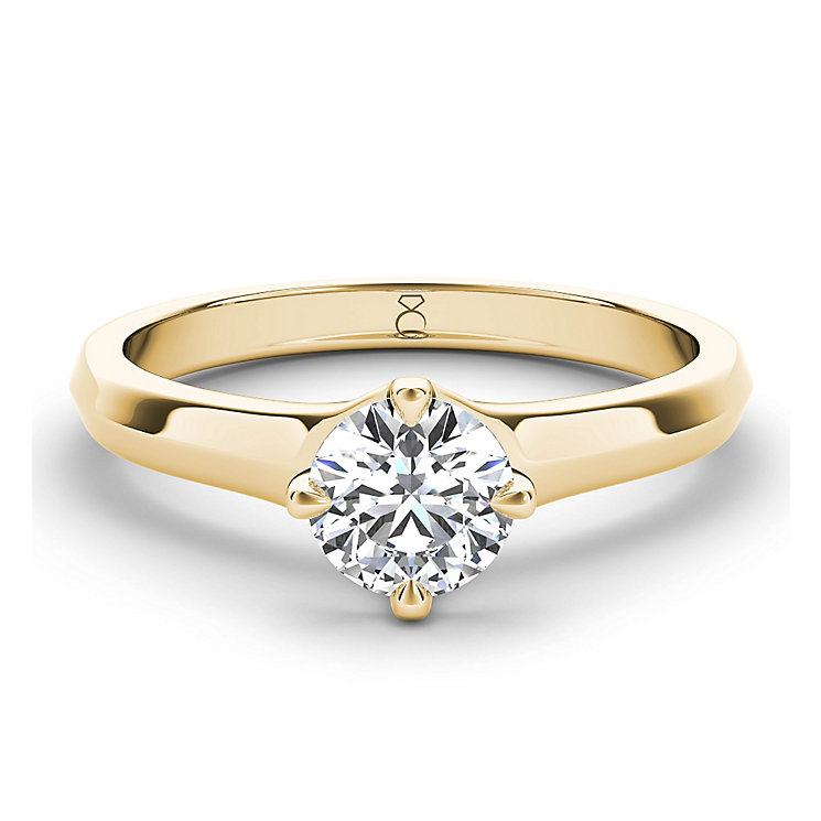 The Diamond Story 18ct yellow gold 1/3 carat diamond ring - Product number 3456803