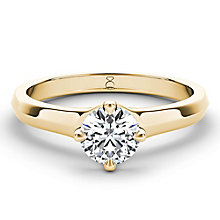The Diamond Story 18ct yellow gold half carat diamond ring - Product number 3457141