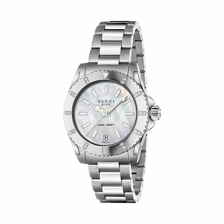 Gucci Dive ladies' stainless steel bracelet watch - Product number 3460223