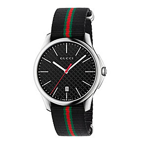 Gucci Timeless men's stainless steel strap watch - Product number 3460258