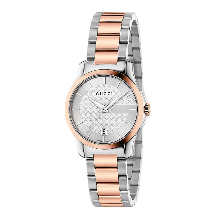 Gucci G Timeless Ladies' Bi-colour Bracelet Watch - Product number 3460290