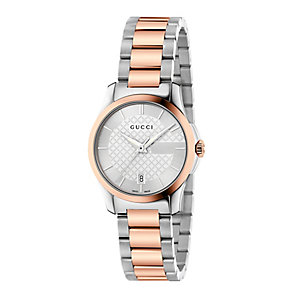Gucci Timeless ladies' two colour bracelet watch - Product number 3460290