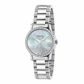 Gucci Timeless ladies' stainless steel bracelet watch - Product number 3460304