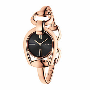Gucci Horsebit ladies' rose gold-plated bracelet watch - Product number 3460517
