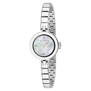 Gucci Diamanti ladies' stainless steel bracelet watch - Product number 3460959