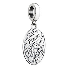 Chamilia Pisces zodiac sterling silver charm - Product number 3464571