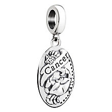 Chamilia Cancer zodiac sterling silver charm - Product number 3464695