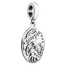 Chamilia Scorpio zodiac sterling silver charm - Product number 3464962