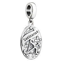 Chamilia Sagittarius zodiac sterling silver charm - Product number 3464997