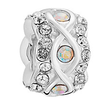 Chamilia luxe aurore crystal sterling silver charm - Product number 3465462