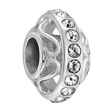 Chamilia lavish crystal sterling silver charm - Product number 3465519