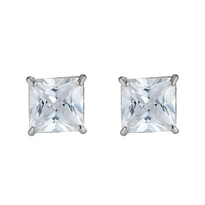 White Gold Cubic Zirconia Studs - Product number 3468461
