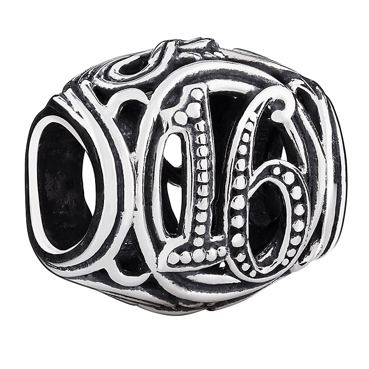 Chamilia 16 milestone sterling silver charm - Product number 3469506