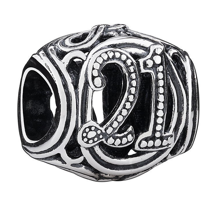 Chamilia 21 milestone sterling silver charm - Product number 3470903