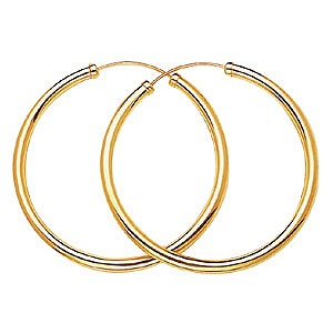 Gold Hoop Earrings - Product number 3472094