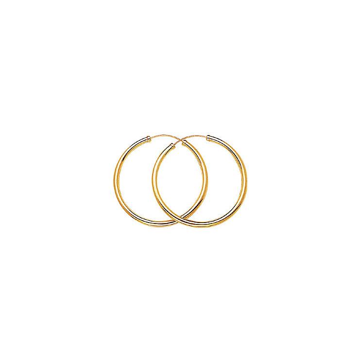 Gold Hoop Earrings - Product number 3472094