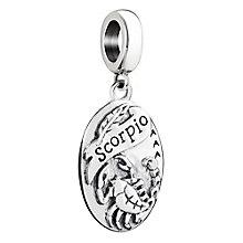 Chamilia Sterling Silver Scorpio Zodiac Bead - Product number 3473376