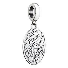 Chamilia Sterling Silver Pisces Zodiac Bead - Product number 3473430