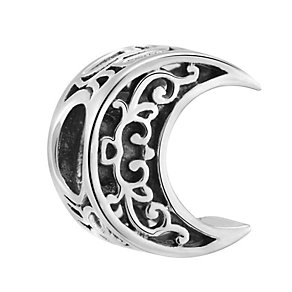 Chamilia Sterling Silver Crescent Moon Filigree Bead - Product number 3473465